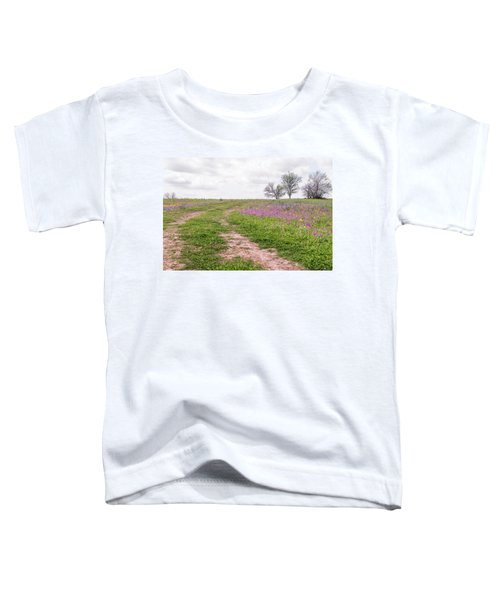 Texas Wildflowers 3 Toddler T-Shirt