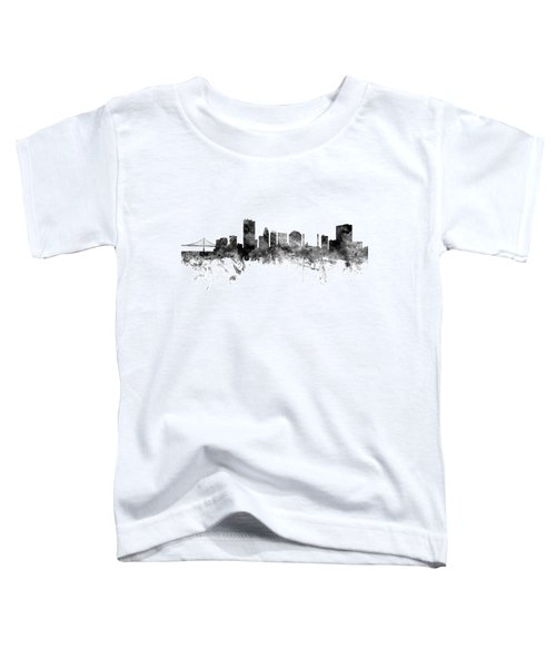 Toledo Ohio Skyline Toddler T-Shirt