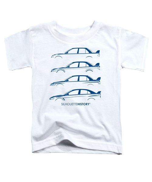 Triple Diamonds Silhouettehistory Toddler T-Shirt