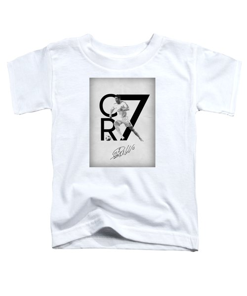 Cristiano Ronaldo Toddler T-Shirt