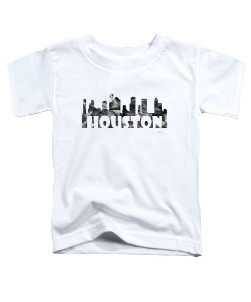 Houston Texas Skyline Toddler T-Shirt