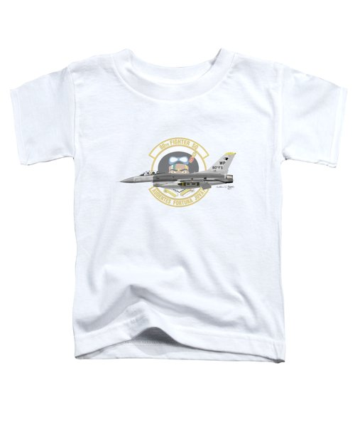 Lockheed Martin F-16c Viper Toddler T-Shirt