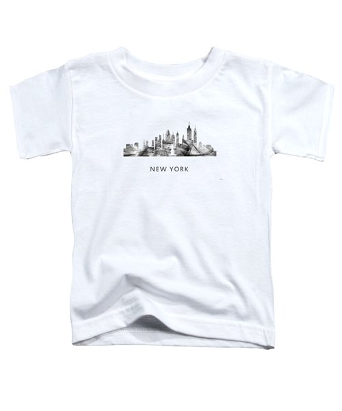 New York New York Skyline Toddler T-Shirt