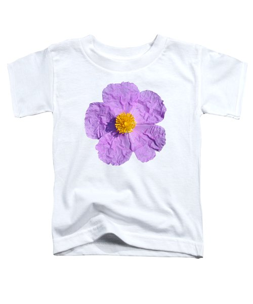 Rockrose Flower Toddler T-Shirt