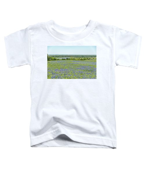 Texas Bluebonnets 10 Toddler T-Shirt