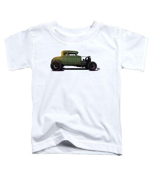 5 Window Hot Rod Toddler T-Shirt