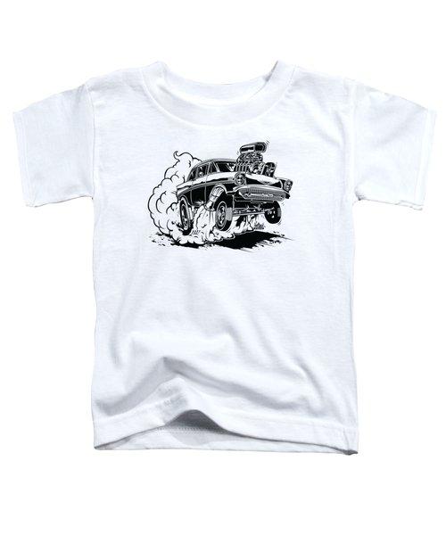 '57 Gasser Cartoon Toddler T-Shirt
