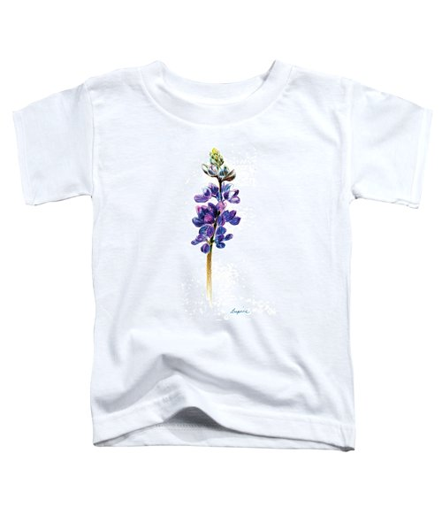 5x7auto Lupine Toddler T-Shirt