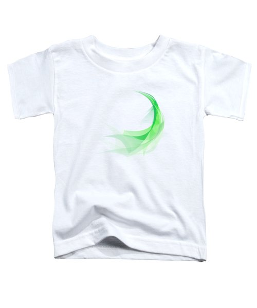Abstract Feather Toddler T-Shirt by Setsiri Silapasuwanchai
