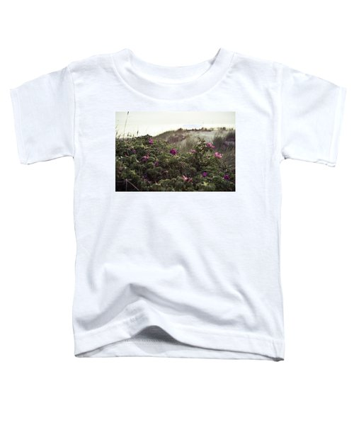 Rose Bush And Dunes Toddler T-Shirt