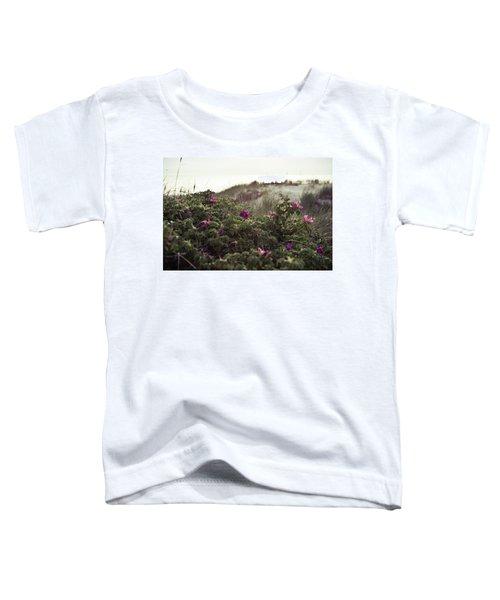 Rose Bush And Dunes Toddler T-Shirt