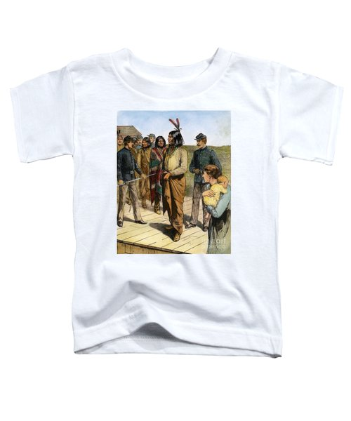 Geronimo 1829-1909.  To License For Professional Use Visit Granger.com Toddler T-Shirt