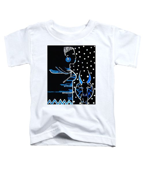 Murle Bride - South Sudan Toddler T-Shirt