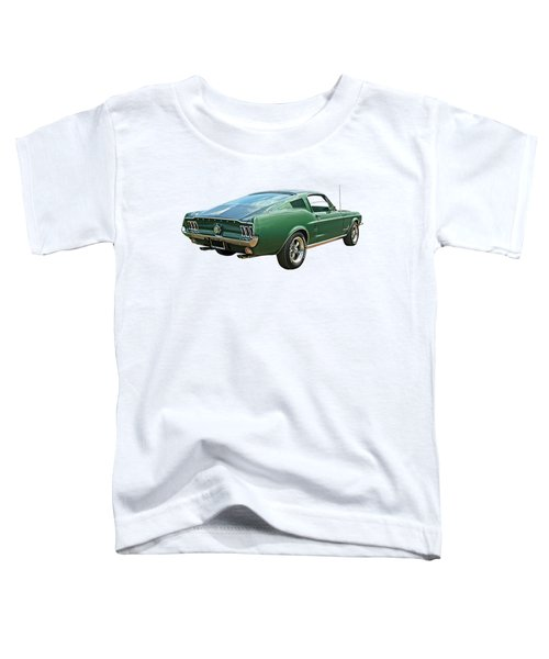 67 Mustang Fastback Toddler T-Shirt