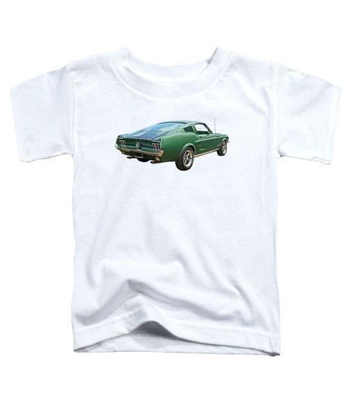 67 Mustang Fastback Toddler T-Shirt