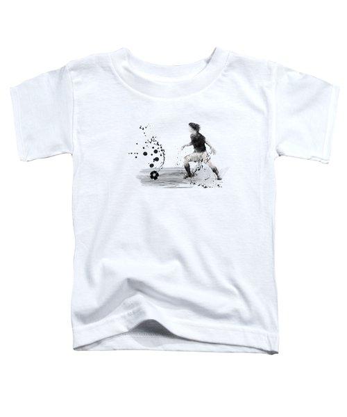 Football Player Toddler T-Shirt