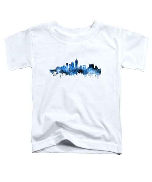 Indianapolis Indiana Skyline Toddler T-Shirt