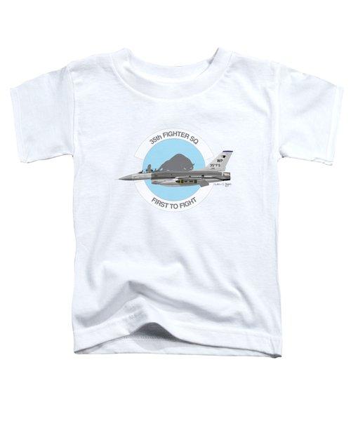 Lockheed Martin F-16c Viper Toddler T-Shirt