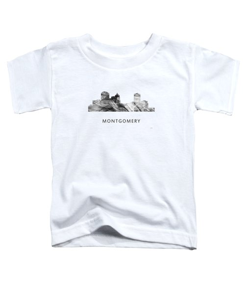 Montgomery Alabama Skyline Toddler T-Shirt