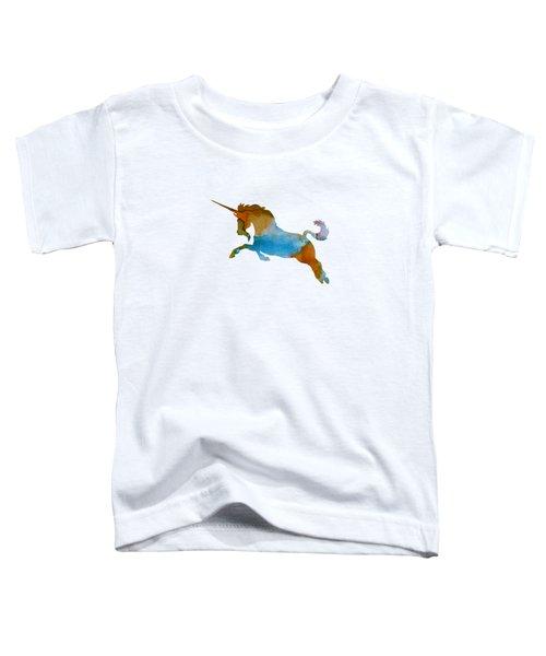 Unicorn Toddler T-Shirt by Mordax Furittus