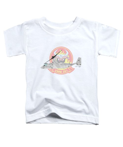 Bell Boeing Mv-22b Osprey Toddler T-Shirt
