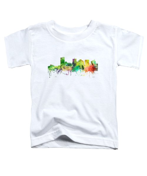 Phoenix Arizona Skyline Toddler T-Shirt by Marlene Watson