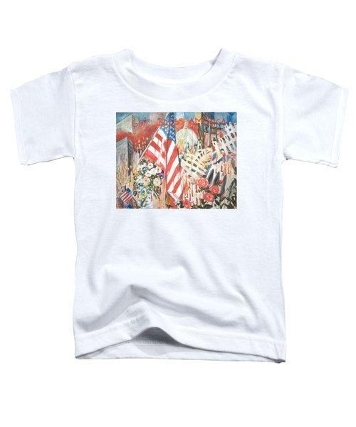 9-11 Attack Toddler T-Shirt