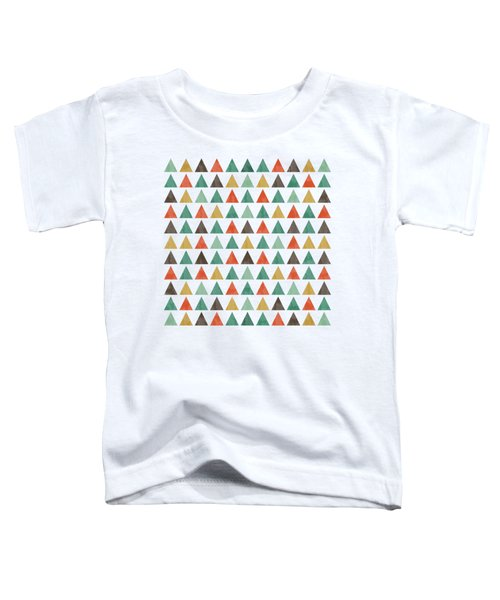 Colorful Geometric Background Toddler T-Shirt