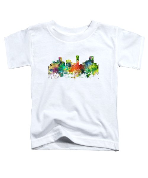 Denver Colorado Skyline Toddler T-Shirt