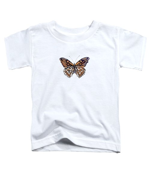 9 Mexican Silver Spot Butterfly Toddler T-Shirt