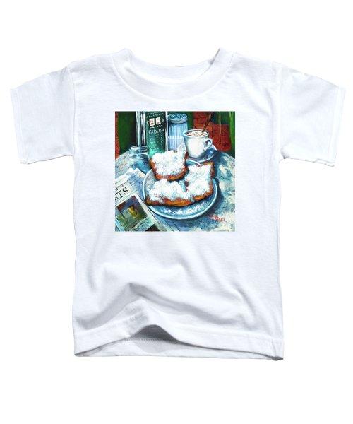 A Beignet Morning Toddler T-Shirt
