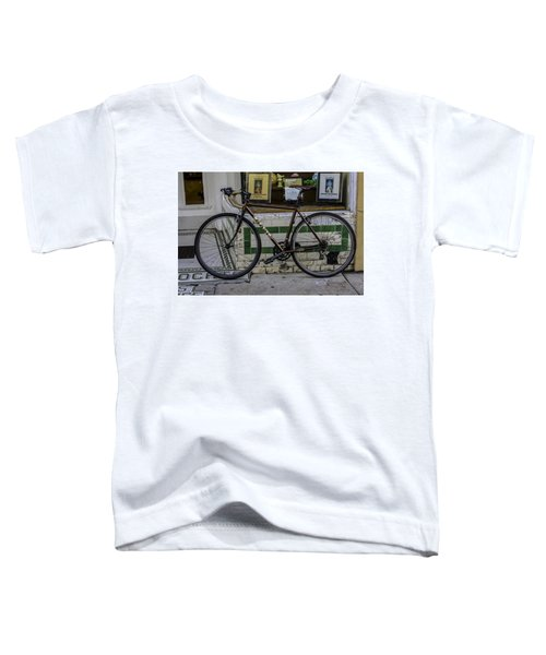 A Bicycle In The French Quarter, New Orleans, Louisiana Toddler T-Shirt