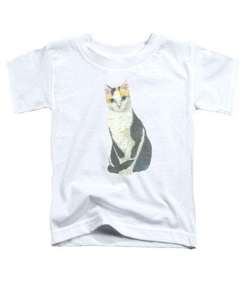 A Calico Cat Toddler T-Shirt