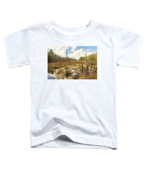 A Connecticut Marsh Toddler T-Shirt