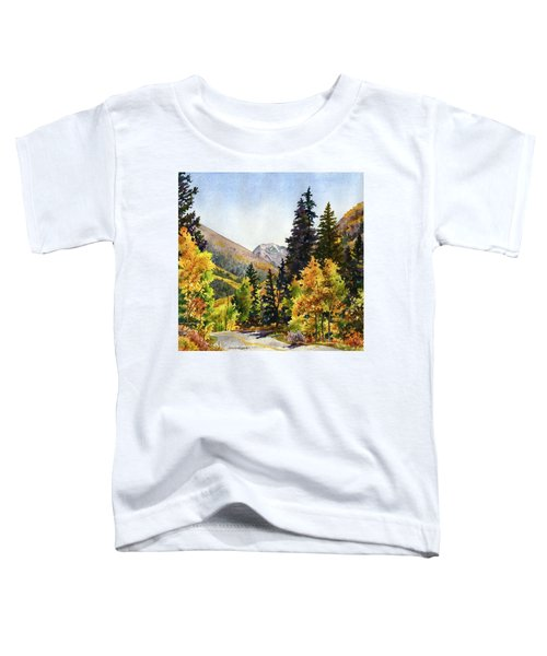 A Drive In The Mountains Toddler T-Shirt