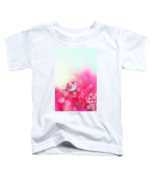 A Drop With Raspberrys And Cream Toddler T-Shirt