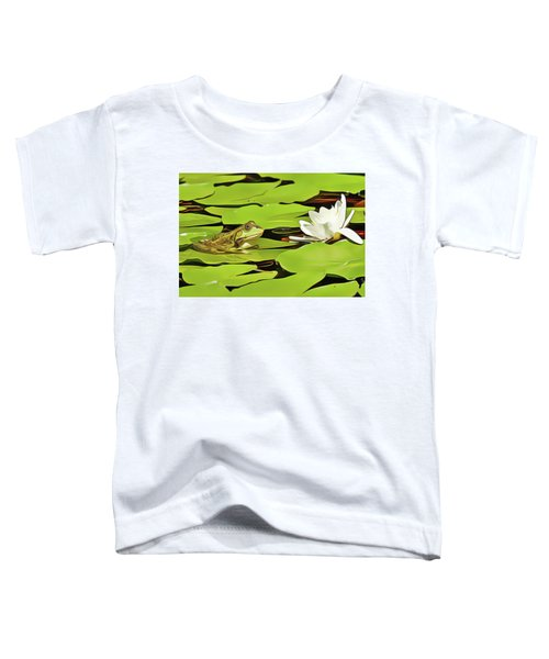 A Frog's Peace Toddler T-Shirt