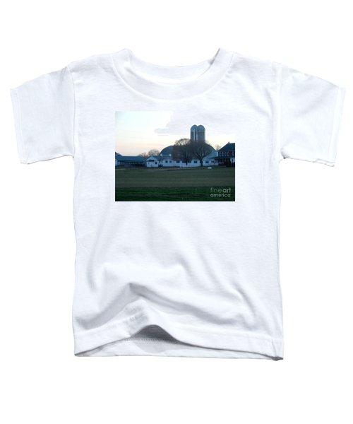 A Glorious Amish Evening Toddler T-Shirt