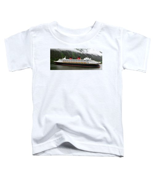A Mickey Mouse Cruise Ship Toddler T-Shirt