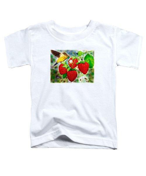 A Midsummer Daydream Toddler T-Shirt by Asha Aravind