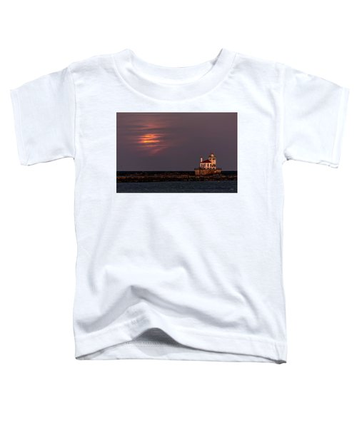 A Moonsetting Sunrise Toddler T-Shirt