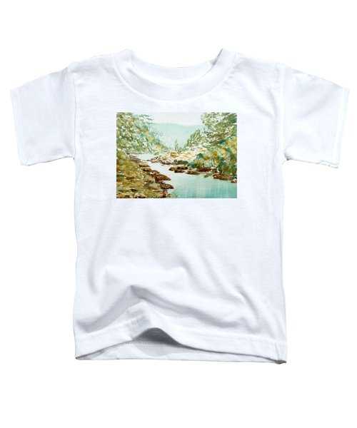 A Quiet Stream In Tasmania Toddler T-Shirt