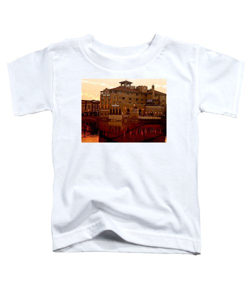 A River Of Gold Toddler T-Shirt