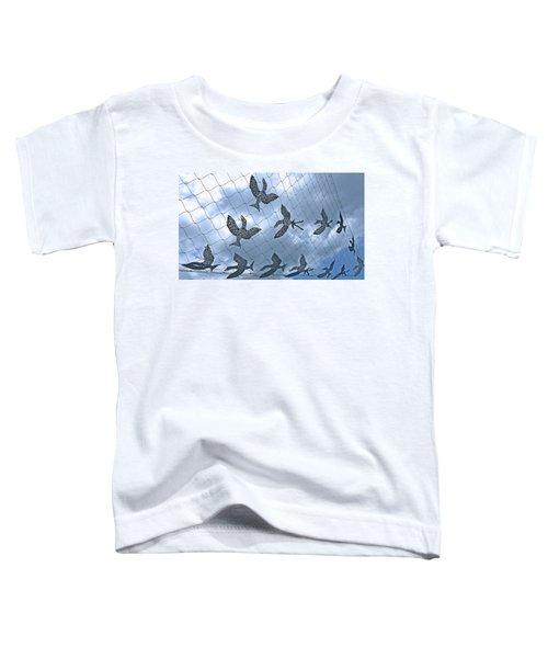 A Sculptural Flock No. 103-1 Toddler T-Shirt