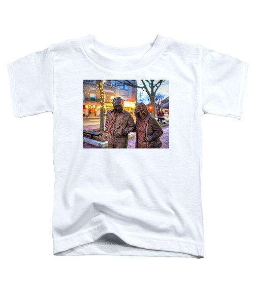A Stroll Through Davis Square Somerville Ma Toddler T-Shirt