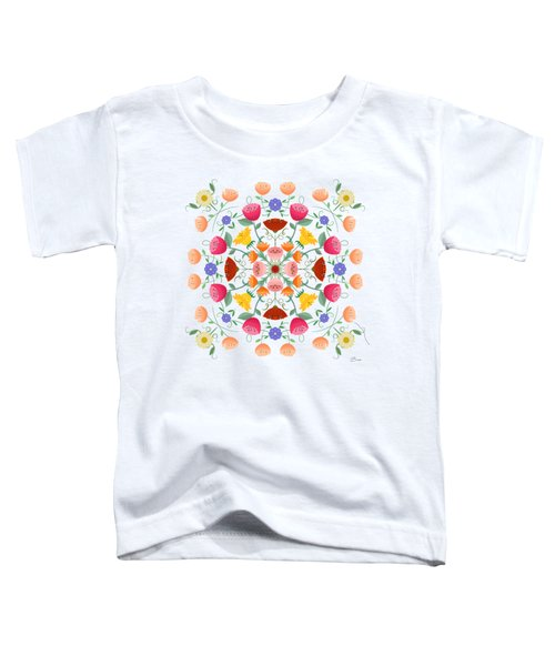 A Symphony Of Dancing Floral Delights Toddler T-Shirt