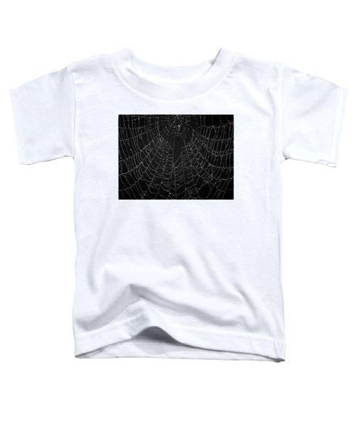 A Web Of Silver Pearls Toddler T-Shirt
