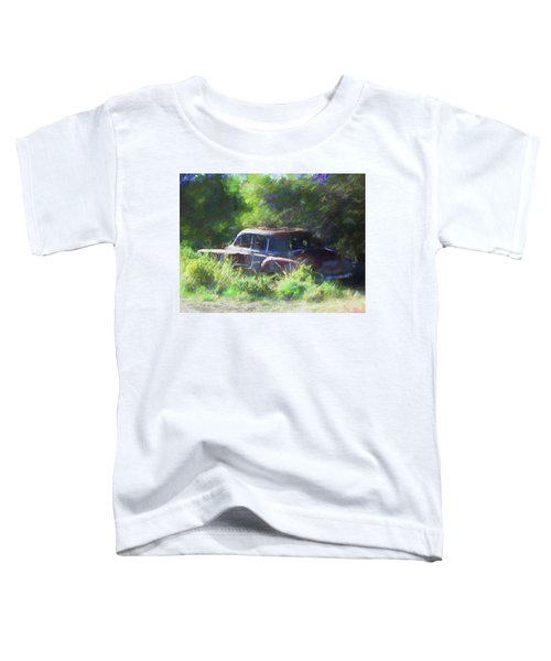 Abandoned 1950 Chevy Dop Toddler T-Shirt