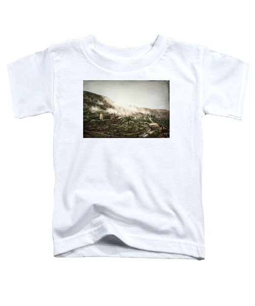 Abandoned Hotel In The Fog Toddler T-Shirt