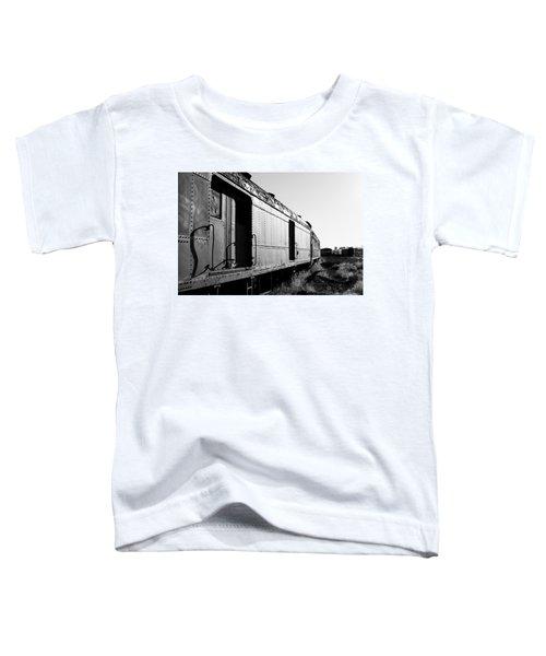 Abandoned Train Cars Toddler T-Shirt